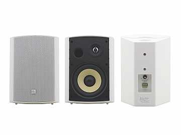 YARDEN 6-O(W) 6.5 inch On-Wall 2-Way Speakers/made with Kevlar Woofers/White by Kramer
