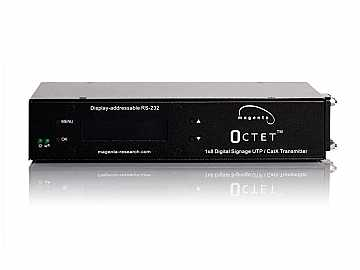 2620050-02 RGBHV/Composite/Component/S-Video/Audio and Addressable Duplex Serial UTP Transmitter/Distribution Amplifier Octet-SAP by Magenta by Magenta Research