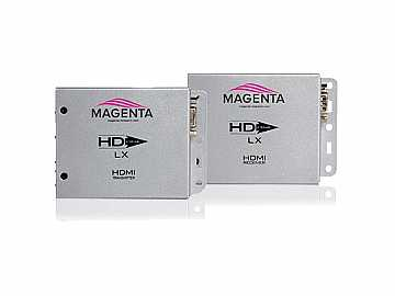 2211078-02 HDMI Video/Audio/IR/RS232 Extender (Receiver/Transmitter) Kit over Cat5e/6/6e/7 by Magenta Research