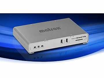 MHDX/I Dual-channel H.264 Encoder for broadcast streaming and recording by Matrox