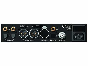 MC1.1  Bidirectional Audio format converter for AES3/AES3id/ S/P-DIF by Mutec