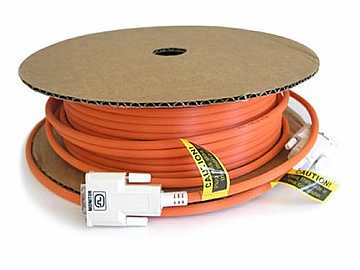 DDI-A015 49ft Fiber Optic DVI-D Cable EMI Shielded by Ophit