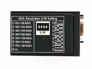 H.D.A. HDMI to VGA converter by Ophit