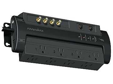M8-AV-PRO Max 8 AV Pro - 8 AC Coax and Telephone Line Surge Protector by Panamax