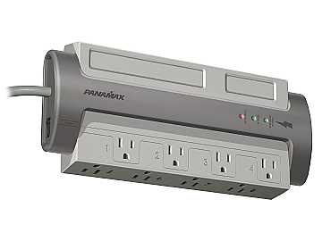 M8-EX 8 AC Only Noise Filtration/Surge Protection For All Equipment by Panamax