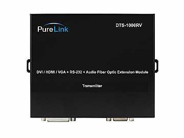 DTS1000RV 4 LC Fiber  UTP/Audio to DVI/HDMI/VGA Extender (Transmitter) by PureLink