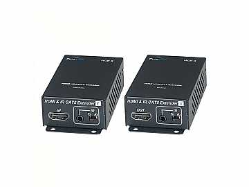 HCE II Tx/Rx HDMI over HDBaseT Ultra HD Extender (Transmitter/Receiver) Kit by PureLink