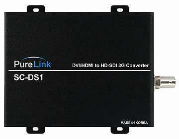 SC-DS1 DVI/HDMI to 3G-SDI Converter by PureLink