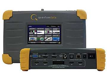 780 Handheld Test Instrument operates up to 225MHz by Quantum Data