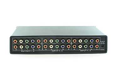 SB-5470 4x2 Component Video HDTV Matrix Switcher/Splitter SILVER color by Shinybow