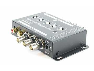 SB-2819BNC 1 in -1 out Component Video/ Audio Booster (BNC) by Shinybow
