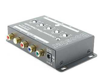 SB-2820 1 in -1 out Component Video/ Audio Booster (RCA) by Shinybow