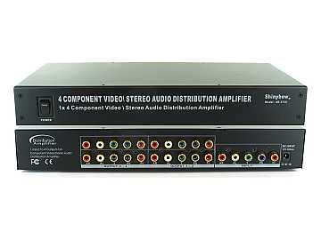 SB-3730 (300) 1x4 Component Video (YPbPr)/Audio Splitter by Shinybow
