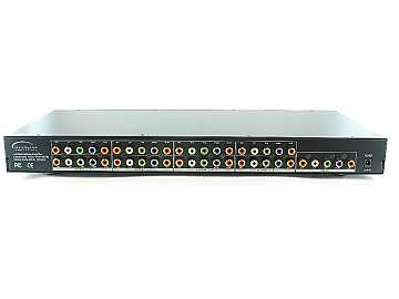 SB-3737 1x8 Component Video/Analog Audio Amplifier Splitter by Shinybow