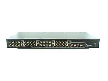 SB-3737SV 1x8 SV/Video/Audio/Digital Distribution Amplifier by Shinybow