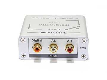 SB-6235T Cat5 Composite Video/Digital and Stereo Audio Extender (Transmitter) by Shinybow