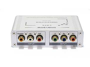 SB-6330T Cat5 Component Video Digital and Stereo Audio Extender (Transmitter) by Shinybow