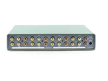 SB-3708 1x8 AV Distribution Amplifier by Shinybow