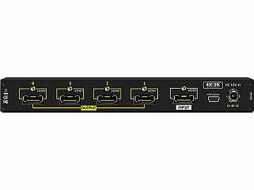 SB-5654K 1x4 HDMI 4K2K Distribution Amplifier w/ Scaler by Shinybow