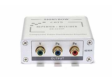 SB-6230R CAT5/Component Video - RGB/YPbPr/HDTV Repeater - Receiver by Shinybow