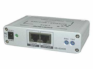 SB-6340R CAT5/Component Video - RGB/HDTV - Extender (Repeater and Receiver) by Shinybow