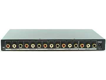 SB-3710 1x4 Digital/Analog Audio Distribution Amplifier Splitter by Shinybow