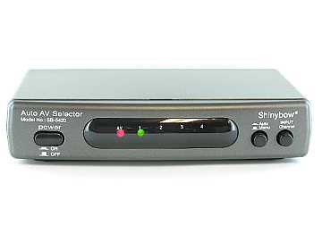 SB-5420 4x2 AUTO Switching Composite Video/Stereo Audio Switch by Shinybow