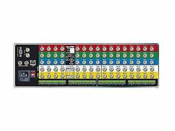 1204V3Sxl 12x4 RGB Matrix Switcher/Balanced Stereo Audio/IP Control/450MHz by Sierra Video