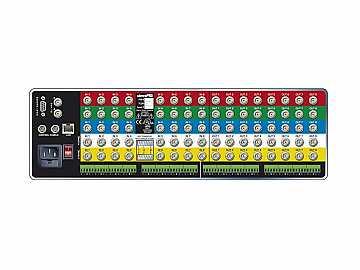 84V3Sxl Pro XL 8x4 RGB/YUV Matrix Switch with Stereo Audio (3RU/LCP/IP) by Sierra Video