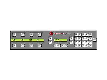 SCP-240 37 Button Multi-Bus/Multi-Level Programmable 2 LCD Remote Control Panel by Sierra Video