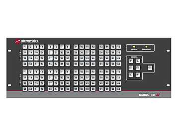 3248V3XL Pro 64 XL 32x48 RGB (12RU/LCP/Rednt Pwr/IP) Matrix Switch by Sierra Video