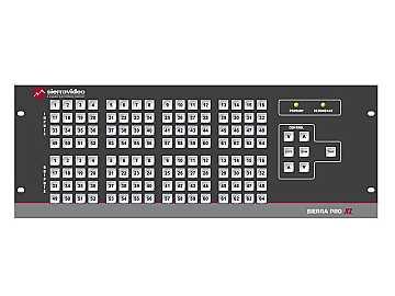 3264V3SXL Pro 64 XL 32x64 RGB   Stereo Audio (17RU/LCP/Rednt Pwr/IP) Matrix Switch by Sierra Video