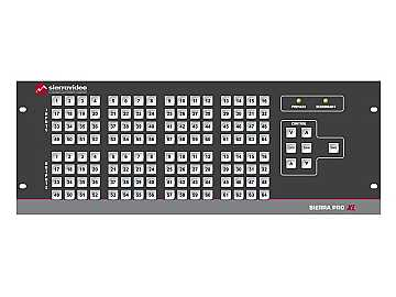3264V3XL Pro 64 XL 32x64 RGB (12RU/LCP/Rednt Pwr/IP) Matrix Switch by Sierra Video
