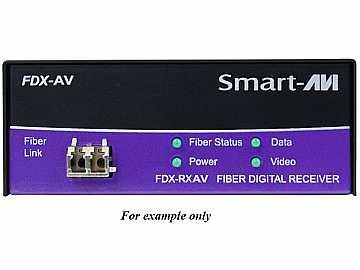 FDX-TXAVS DVI-D/Stereo Audio/RS-232/Multimode Fiber Extender (Transmitter) by Smartavi