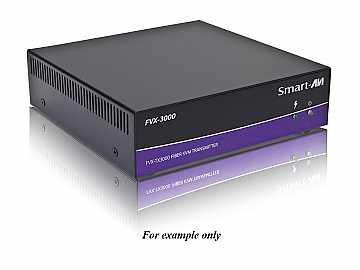 FVX-3000S DVI-I/Stereo Audio/USB 1.1/RS-232/Multimode Extender (Transmitter/Receiver) Kit by Smartavi