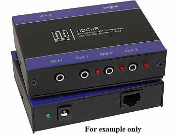 HDC-IR-TXS IR CAT5 Extender (Transmitter) up to 1000ft (Bi-directional IR) by Smartavi