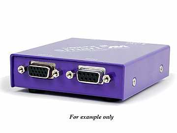 VDX-RXS VGA CAT5 Extender (Receiver) with RS-232/1080p/1920x1200/1000ft by Smartavi
