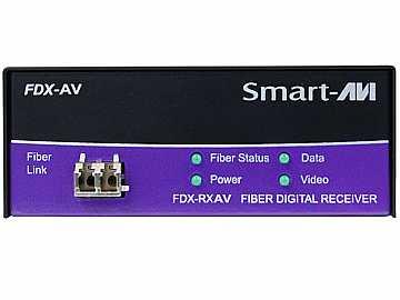 FDX-RXAVS DVI-D/Stereo Audio/RS-232/Multimode Fiber Extender (Receiver) by Smartavi
