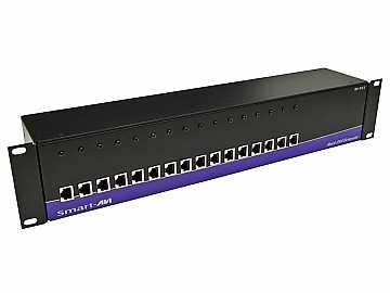 RK-DVX-RX16S 16-Port Receiver for RACK-DVX200 (DVI-D Extender Over 220ft) by Smartavi