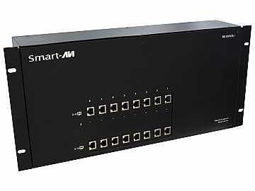 RK-DVX2U-A-TX4S Dual DVI-D /Audio /USB CAT6 STP Extender (Transmitter) by Smartavi