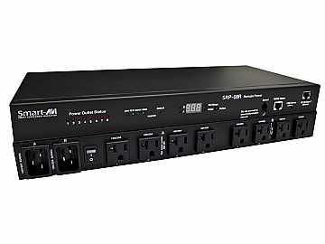 SRP-08RAU 8-Port Smart Remote Power Unit with AU Socket (DHCP/IP/POP3/SMTP) by Smartavi