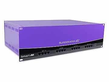 SMX-AVD3216S 32x16 Component/VGA  RS-232/IR Control over CAT5 Matrix Switcher by Smartavi