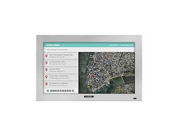 DS-3214TSL-SL 32in ProSeries Outdoor Touch Screen signage monitor Slv by SunBriteTV