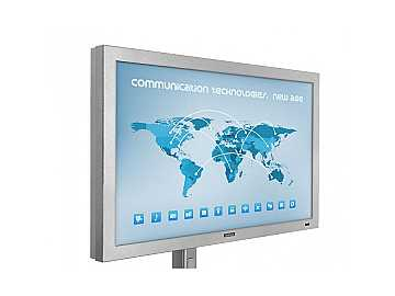 DS-4717TSL-SL 47in Pro Series Outdoor Touch Screen Signage silver by SunBriteTV