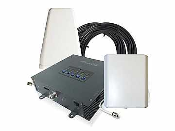 SC-PolyH/O-72-YP-KIT Fusion5 3G/4G five-band Cell Phone/Data Booster by SureCall