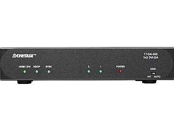 1T-DA-552 1x2 DVI-D Distribution Amplifier by TV One