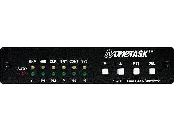 1T-TBC NTSC/PAL/SECAM Time Base Corrector by TV One