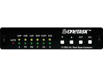 1T-TBC-GL Multi-Standard Time Base Corrector with Genlock by TV One
