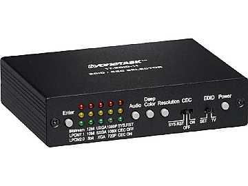 1T-EDID-11 HDMI v1.3 and DVI 1.0 EDID/CEC Selector by TV One