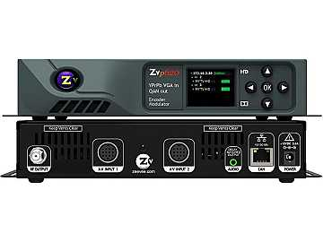 ZVPro620-NA VGA/RGB/YPrPb HD Video Distribution over Coax (Dual Channel) by ZeeVee